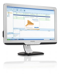 Philips SpeechExec Screen