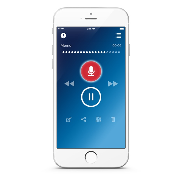 Philips Mobile Recorder iPhone
