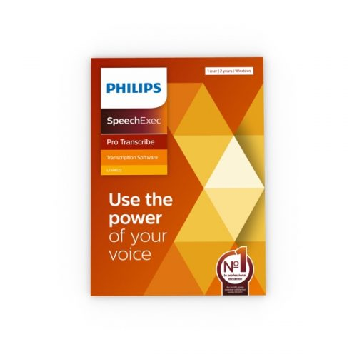 Philips SpeechExec Pro Transcribe 11.5 Box