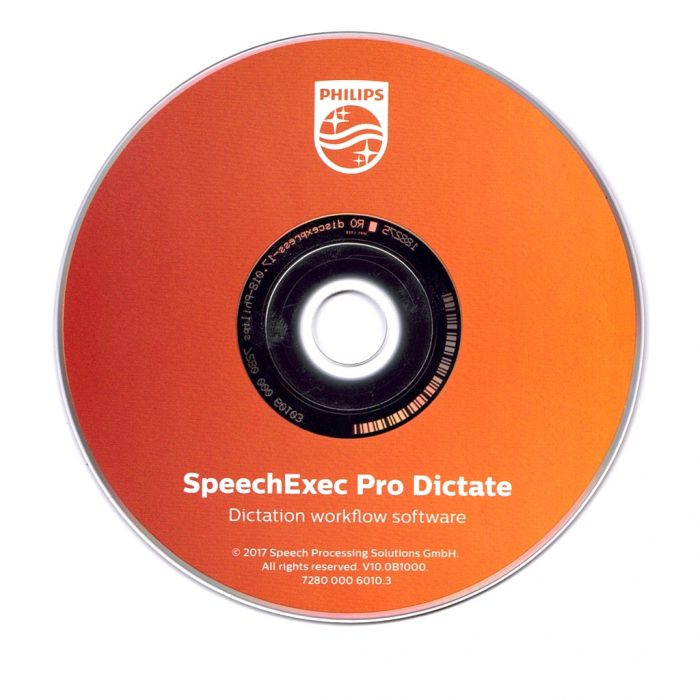 SpeechExec Pro Dictate X CD