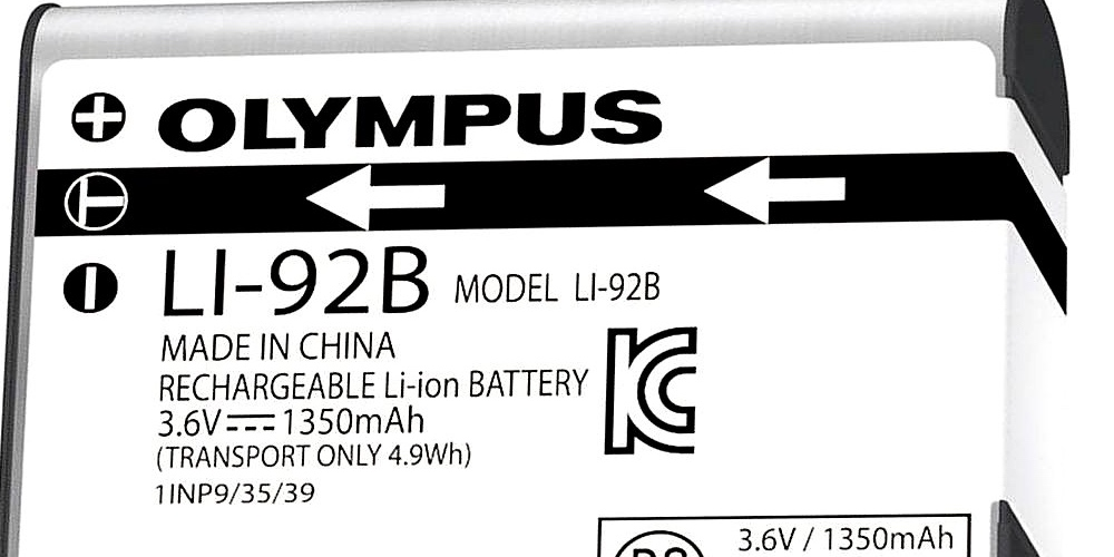 Olympus Battery Issues
